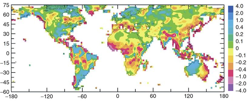 Precipitation World Map.Climate Communication Precipitation Floods And Drought